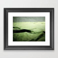 là où les rêves se forment... Framed Art Print
