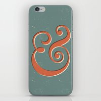 ampersand iPhone & iPod Skins featuring Ampersand by Bill Pyle