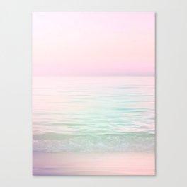 Dreamy Pastel Seascape #buyart #pastelvibes #Society6 Canvas Print
