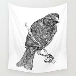 Lovely Bird Wall Tapestry