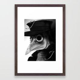 Jack, plague doctor Framed Art Print
