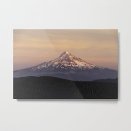 Mt. Hood Backcountry Metal Print