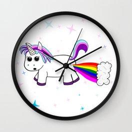 Uni-Farts Wall Clock