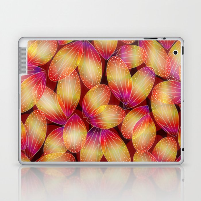 Fire Fairy Wings Laptop & iPad Skin