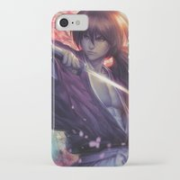 kpop iPhone & iPod Cases featuring Himura Kenshin by Artgerm™