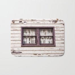 Window. Downieville. California. USA Bath Mat