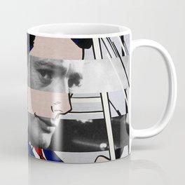 """Roy Lichtenstein's """"In the car"""" & Marcello Mastroianni with Anita Ekberg in La Dolce Vita Coffee Mug"""