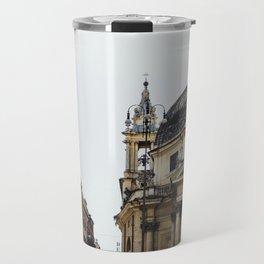 Piazza Del Popolo Rome Travel Mug