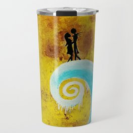 Simply Meant To Be - Nightmare Before Christmas Fan Art Travel Mug