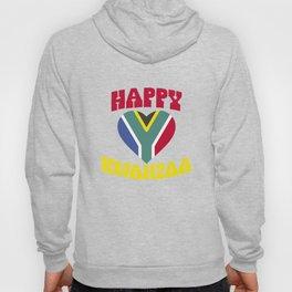 Happy Kwanzaa Heart Africa Flag Black Heritage Hoody