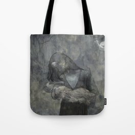 Mother Child Stone Tote Bag