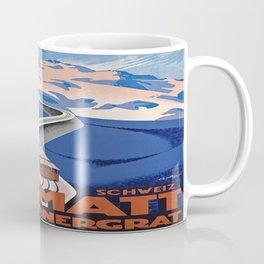 Vintage poster - Zermatt Coffee Mug