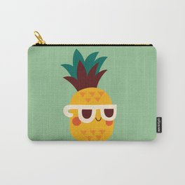Sunny Funny Pineapple Carry-All Pouch