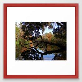 Fall River Reflections 2 Framed Art Print