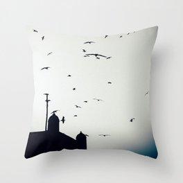 Morocco Rampart Throw Pillow