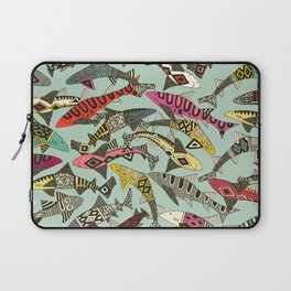 shark party summer Laptop Sleeve