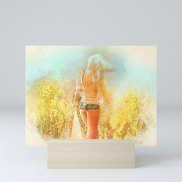 Sunkissed Mini Art Print