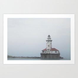 The Chicago Lighthouse Art Print