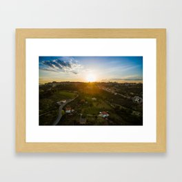 Goodnight, Chieti Framed Art Print