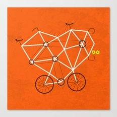 Lovecycle Canvas Print