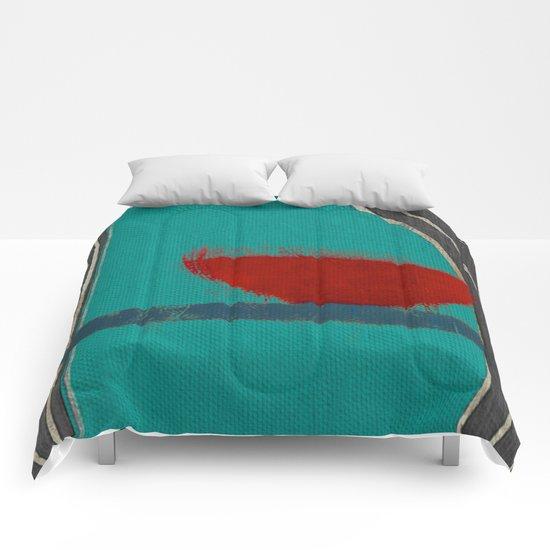 赤容器 (red pot) Comforters