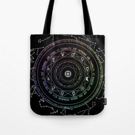 Astrological Magic Circle Tote Bag