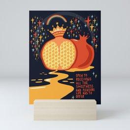 Opet to receiving pleasure Mini Art Print