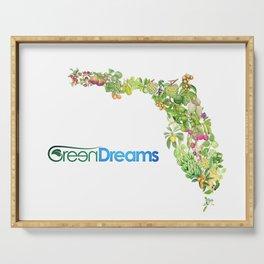 GreenDreams Fruits of Florida Serving Tray
