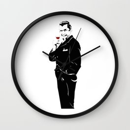 Bela Lugosi Wall Clock