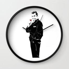 Bela Lugosi Wall Clock
