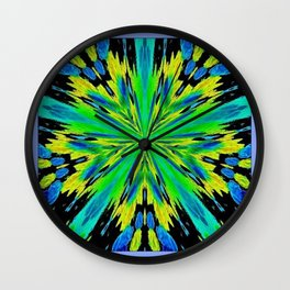 Paint It Boldly Wall Clock