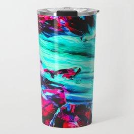 Abstract Paint Mix 20 Travel Mug