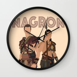 Nagron (Spartacus) Wall Clock