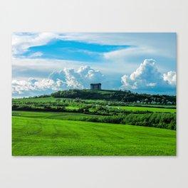 Penshaw Monument - Sunderland, UK Canvas Print