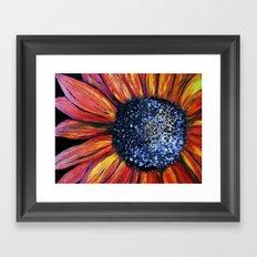 The Red Flower Framed Art Print