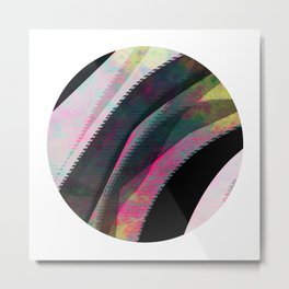 Illusory Metal Print