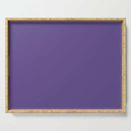 PANTONE 18-3838 Ultra Violet Serving Tray