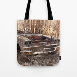 Abandoned Vintage Car  Tote Bag