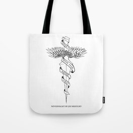 Never Flinch, Never Fear, Never Forget Tote Bag