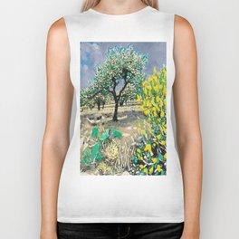 Olive Tree & Gorse Bush Biker Tank