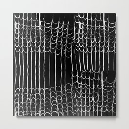 Squiggles Metal Print