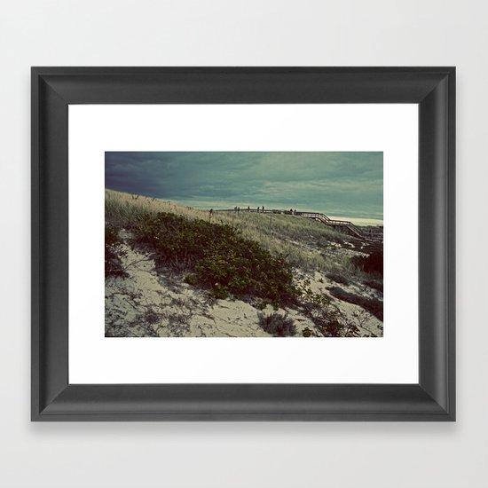 Nautica: Leaving the Dune Framed Art Print