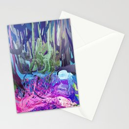 405 - Abstract Colour Design Stationery Cards