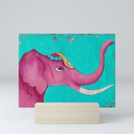 Elephant - Karla Leigh Wood Mini Art Print