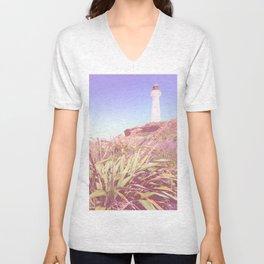 Lighthouse At Castlepoint Unisex V-Neck