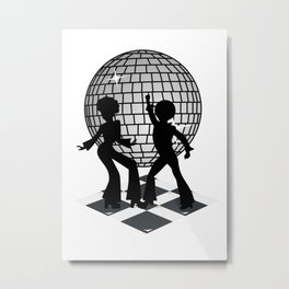 Retro Music DJ! Feel The Oldies! Metal Print