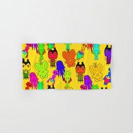 Yellow Clown Hand & Bath Towel