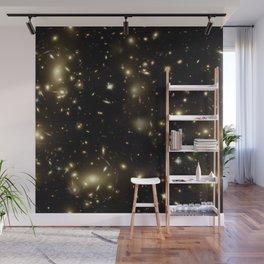 Nebula texture #20: Gold Mine Field Wall Mural