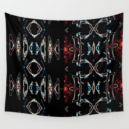 Patterned Rifts Large Wall Tapestry