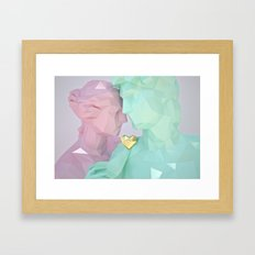 Close lovers Framed Art Print
